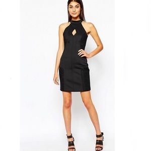 French Connection Scubalicious Cutout Dress Size 4